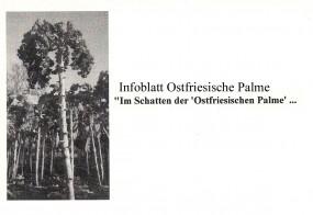 Informationsblatt Ostfriesische Palme